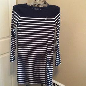 Polo T-shirt dress